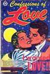 Cover for Confessions of Love (Star Publications, 1952 series) #5