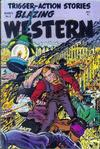 Cover for Blazing Western (Timor, 1954 series) #2