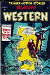 Cover for Blazing Western (Timor, 1954 series) #4