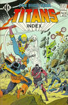 Cover for The Official Teen Titans Index (Independent Comics Group, 1985 series) #5