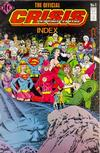 Cover for The Official Crisis On Infinite Earths Index (Independent Comics Group, 1986 series) #1