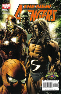 Cover Thumbnail for New Avengers (Marvel, 2005 series) #8 [Direct Edition]