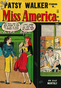 Cover Thumbnail for Miss America (Marvel, 1953 series) #52