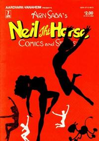 Cover Thumbnail for Neil the Horse Comics and Stories (Aardvark-Vanaheim, 1983 series) #7