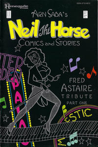 Cover Thumbnail for Neil The Horse Comics and Stories (Renegade Press, 1984 series) #11