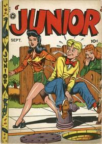 Cover Thumbnail for Junior [Junior Comics] (Fox, 1947 series) #9
