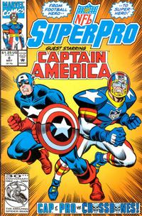 Cover Thumbnail for NFL Superpro (Marvel, 1991 series) #8 [Direct]