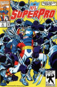Cover Thumbnail for NFL Superpro (Marvel, 1991 series) #9 [Direct]