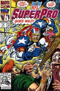 Cover Thumbnail for NFL Superpro (Marvel, 1991 series) #10 [Direct]