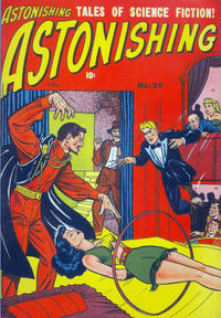 Cover Thumbnail for Astonishing (Bell Features, 1951 series) #29