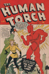 Cover Thumbnail for The Human Torch (Superior Publishers Limited, 1948 series) #34