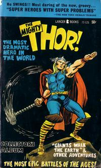 Cover Thumbnail for The Mighty Thor Collector's Album (Lancer Books, 1966 series) #72-125