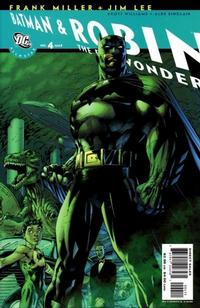 Cover Thumbnail for All Star Batman & Robin, the Boy Wonder (DC, 2005 series) #4 [Direct]
