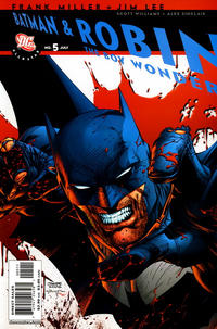 Cover Thumbnail for All Star Batman & Robin, the Boy Wonder (DC, 2005 series) #5 [Direct]