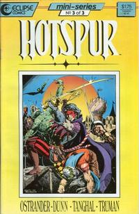 Cover Thumbnail for Hotspur (Eclipse, 1987 series) #3