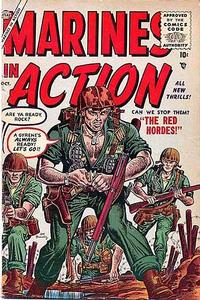 Cover Thumbnail for Marines in Action (Marvel, 1955 series) #3