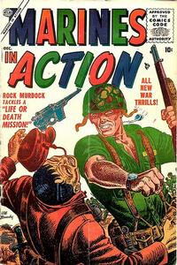 Cover Thumbnail for Marines in Action (Marvel, 1955 series) #4