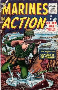 Cover Thumbnail for Marines in Action (Marvel, 1955 series) #6