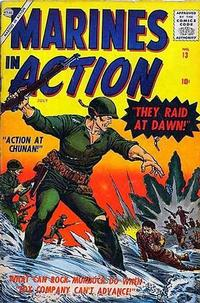 Cover Thumbnail for Marines in Action (Marvel, 1955 series) #13
