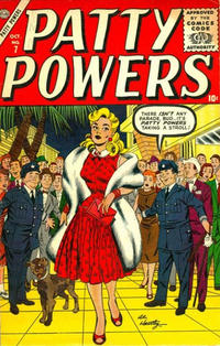 Cover Thumbnail for Patty Powers (Marvel, 1955 series) #7