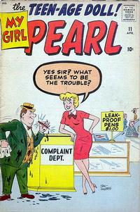 Cover Thumbnail for My Girl Pearl (Marvel, 1955 series) #11