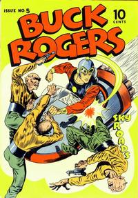 Cover Thumbnail for Buck Rogers (Eastern Color, 1940 series) #5