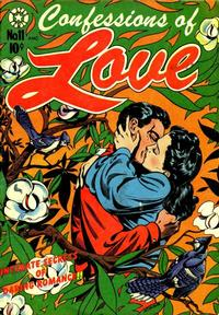 Cover Thumbnail for Confessions of Love (Star Publications, 1952 series) #11