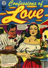 Cover Thumbnail for Confessions of Love (Star Publications, 1952 series) #12