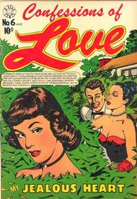 Cover Thumbnail for Confessions of Love (Star Publications, 1952 series) #6