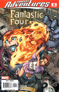 Cover for Marvel Adventures Fantastic Four (Marvel, 2005 series) #4