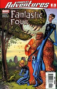 Cover Thumbnail for Marvel Adventures Fantastic Four (Marvel, 2005 series) #5