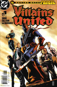Cover Thumbnail for Villains United (DC, 2005 series) #1 [First Printing]