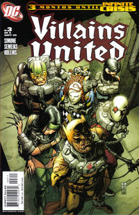 Cover Thumbnail for Villains United (DC, 2005 series) #3