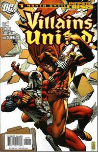 Cover Thumbnail for Villains United (DC, 2005 series) #5