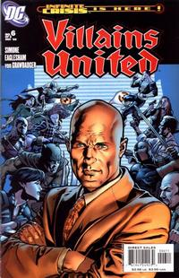 Cover Thumbnail for Villains United (DC, 2005 series) #6