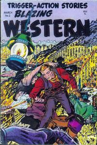 Cover Thumbnail for Blazing Western (Timor, 1954 series) #2