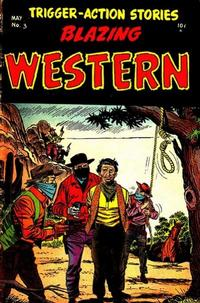 Cover Thumbnail for Blazing Western (Timor, 1954 series) #3