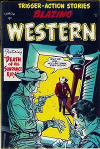 Cover Thumbnail for Blazing Western (Timor, 1954 series) #4