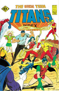Cover Thumbnail for The Official Teen Titans Index (Independent Comics Group, 1985 series) #2