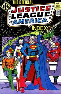 Cover Thumbnail for The Official Justice League of America Index (Independent Comics Group, 1986 series) #1