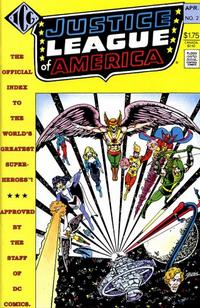 Cover Thumbnail for The Official Justice League of America Index (Independent Comics Group, 1986 series) #2
