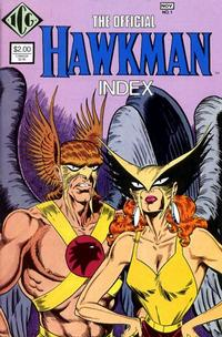 Cover Thumbnail for The Official Hawkman Index (Independent Comics Group, 1986 series) #1