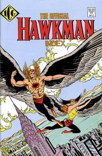 Cover Thumbnail for The Official Hawkman Index (Independent Comics Group, 1986 series) #2