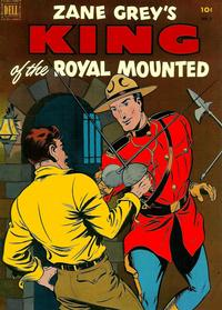 Cover Thumbnail for King of the Royal Mounted (Dell, 1952 series) #8