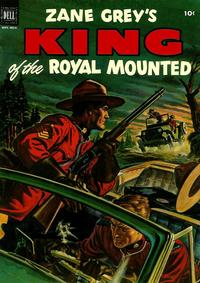 Cover Thumbnail for King of the Royal Mounted (Dell, 1952 series) #9
