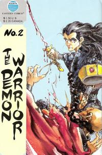 Cover Thumbnail for The Demon Warrior (Eastern Comics, 1987 series) #2