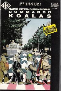 Cover Thumbnail for Naive Inter-Dimensional Commando Koalas (Independent Comics Group, 1986 series) #1