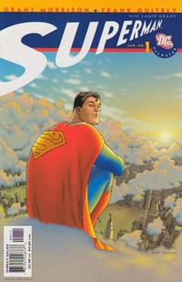 Cover Thumbnail for All Star Superman (DC, 2006 series) #1 [Direct Sales]