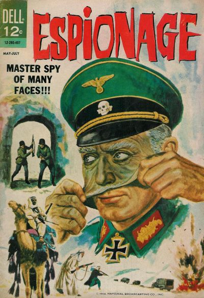 Cover for Espionage (Dell, 1964 series) #1