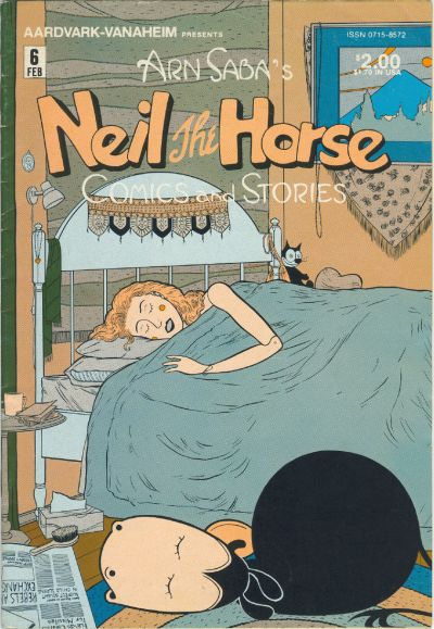 Cover for Neil the Horse Comics and Stories (Aardvark-Vanaheim, 1983 series) #6
